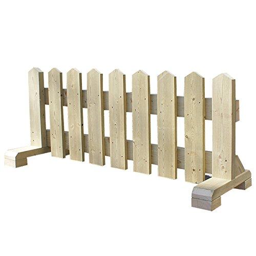 木製 ペット フェンス 幅120cm -ナチュラル- 【受注製作】 小型犬用 サークル 手作り ウッドフェンス 犬 ペット 屋外 仕切り ゲート 飛び出し防止