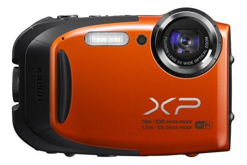 FUJIFILM コンパクトデジタルカメラ XP70OR オレンジ F FX-XP70OR