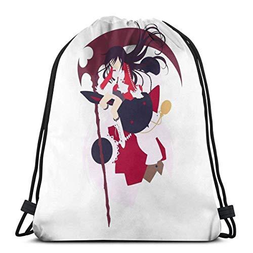 WH-CLA Bolsas De Cordones Alice Baskerville De Corazones Mochila Cordónes Multiusos Cordón Bolsa Lavable Bolsas De Cuerdas Plegable Gimnasia Saco Bolsa para Hombre Mujer