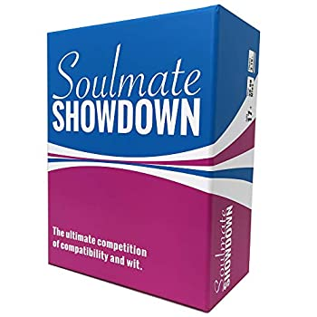 Soulmate Showdown - The Ultimate Competition of Compatibility and Wit - Party Card Game for Couples and Friends
