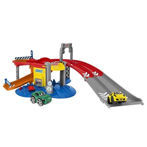 Chicco - Véhicule Miniature - Garage - Stop & Go Turbo Team