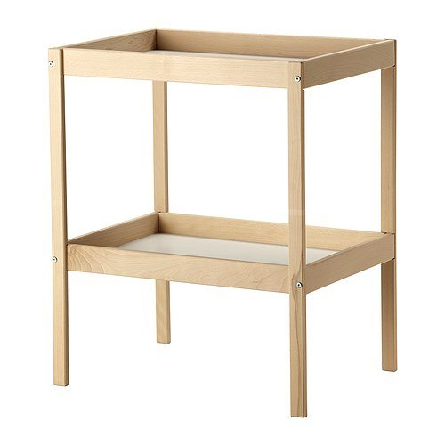 Ikea SNIGLAR - Changing Table Beech White - 72x53 cm