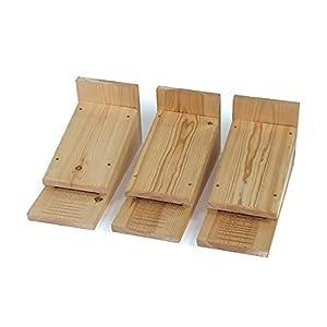 Riverside Woodcraft Bat nesting/roosting boxes set of 3