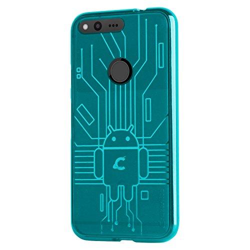 CruzerLite Circuit Custodia per Google Pixel, Arancione