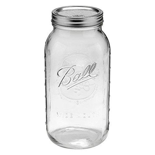 1 Ball 64oz Wide Mouth Half Gallon Mason Jar by Canning Jar