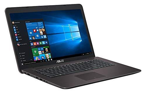 Asus F756UQ-T4073T 43,9 cm (17,3 Zoll matt) Laptop (Intel Core i5-6200U, 1000GB HDD, 128GB SSD, 8GB RAM, Nvidia GeForce 940MX, Win 10 Home) (Generalüberholt)