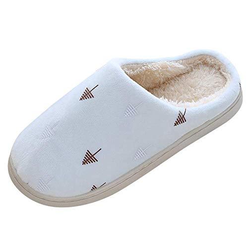 zvcv Chanclas de algodón para el hogar, Bonitas Zapatillas de árbol de...