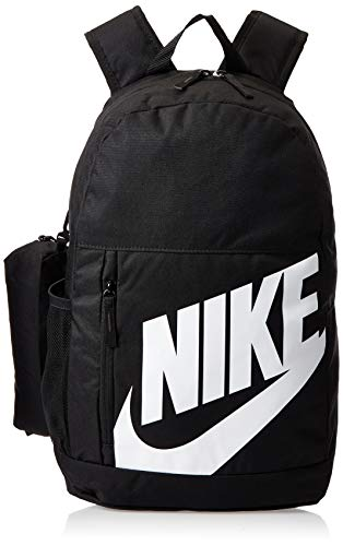 Nike Kinder Sports Backpack Y Nk Elmntl BKPK - FA19, Black/(White), MISC, BA6030