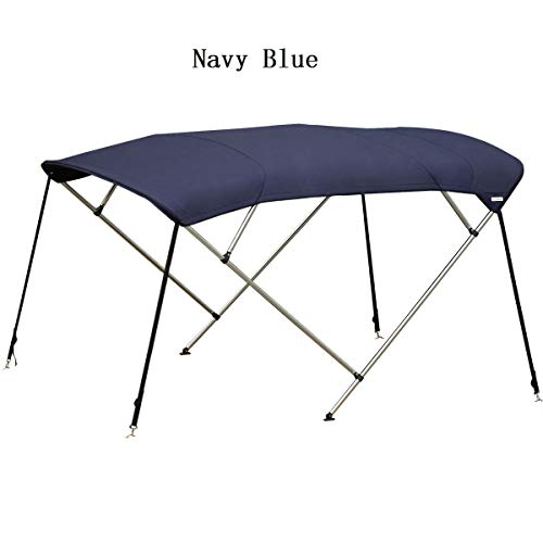 Find Bargain Oceansouth Marine Boat 4 Bow Bimini Top 25mm Aluminium Length 2.2m Height 1.1m-1.25m MA...
