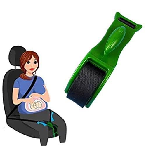 Embarazo Cinturón de seguridad Cinturón de seguridad Cinturón seguro Cinturón Ajustador de gancho Confort y seguridad para Mornity Mamás Belly Protect Nabot Baby embarazada Mujer ( Color : Green )