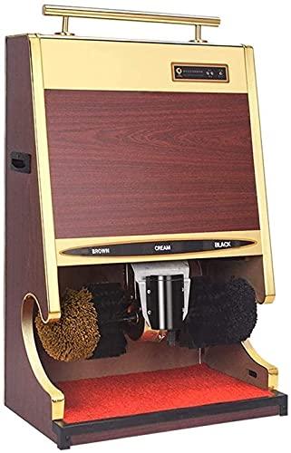 FCPLLTR Limpiador de zapatos eléctricos, zapato de zapato, brillo de zapatos, pincel de zapato eléctrico máquina de pulido de zapatos automático Pulidor de múltiples cepillos para hotel Hall de entrad