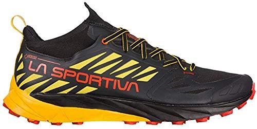 LA SPORTIVA Kaptiva GTX, Zapatillas de Trail Running Hombre, Black/Yellow, 43 EU