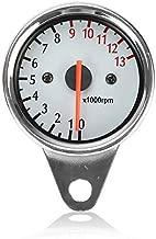 FidgetKute LED Backlit Tachometer Gauge Fit for Yamaha V-Star XVS 950 1100 1300 Classic Stryker