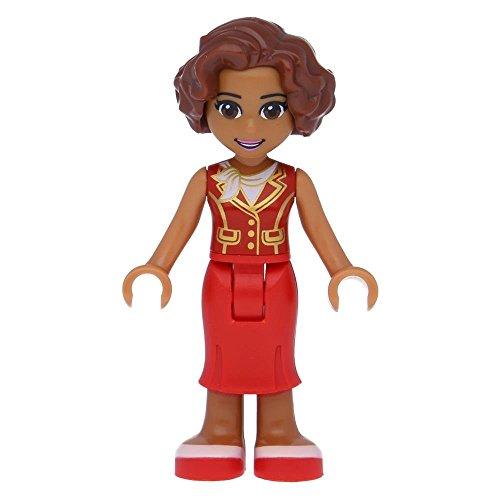 LEGO® Friends Susan, Red Long Skirt, Dark Red Vest (41101)