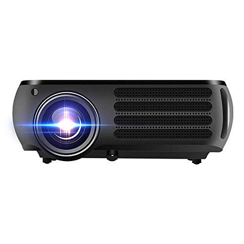 HD videoprojector thuisbioscoop LCD film projecto HD LCD-projector 950 lumen 1280X800dpi 3D LED projector mobiele telefoon met scherm 1G + 8G WiFi Bluetooth Android versie werken met laptop / Blu-ray DVD-speler /