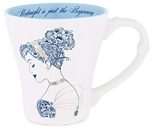 Disney Cinderella ''Midnight is Just the Beginning'' Porcelain Coffee Tea Mug