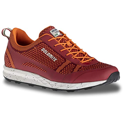 Dolomite Zapato Knit Settantasei Chaussures en tricot unisexe - Rouge - rouge, 5 UK