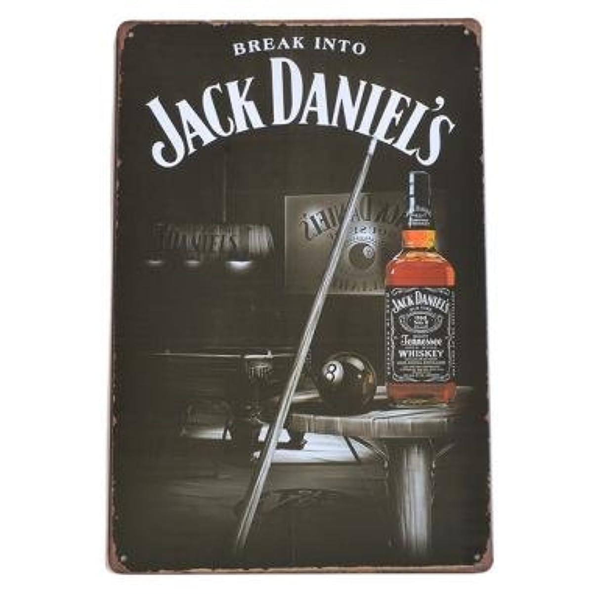 評価可能選ぶネイティブJACK DANIEL'S ブリキ看板 ジャックダニエル 看板 No.7 40cm×30cm (デザイン1) [並行輸入品]