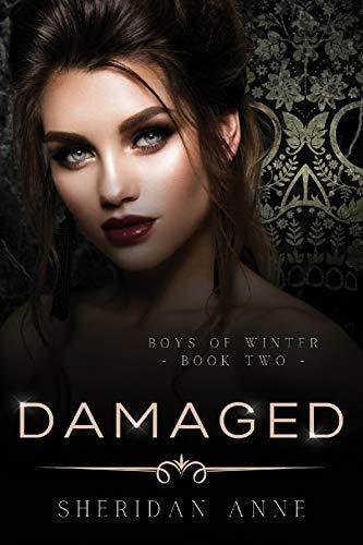 Damaged: A Dark Enemies to Lovers Reverse Harem Romance (Boys Of Winter Book 2)