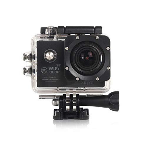 CYYMY 1080p Action Cam,Hyper Stabilizzazione Videocamera, Fotocamera Impermeabile con Funzione,170° Grandangolare,30m con Fotocamera Subacquea Digitale,per Sport e attività,4