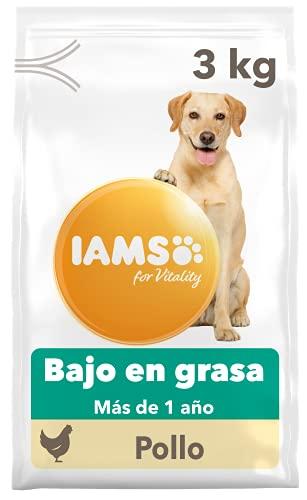 IAMS for Vitality Light in fat - Alimento para Perros con Pollo Fresco, 3 kg