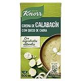 KNORR las clásicas crema calabacín con queso de cabra 500 ml