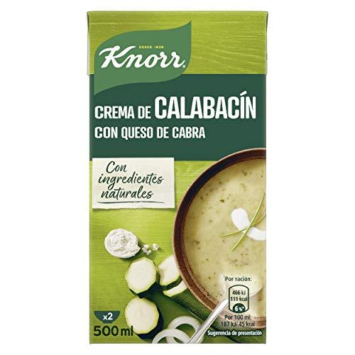 KNORR las clásicas crema calabacín con queso de cabra 12x 500 ml