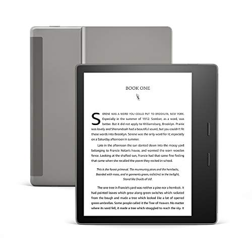 Kindle Oasis – Now with adjustable warm light – Ad-Supported Iowa