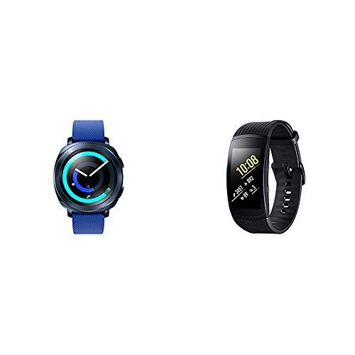 Samsung Bundle di San Valentino - Gear Sport Blu + Gear Fit 2 Pro Nero