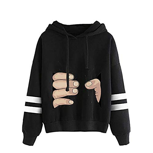 Women Hoodie Oversized Long Sleeves Sweatshirt for Teen Girls Jumper Tops Soft Warm Comfortable Casual Pullover Hoodie