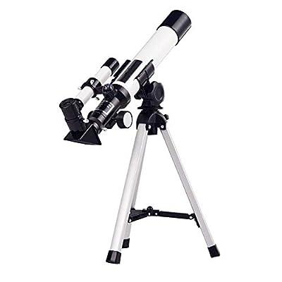 Telescope, AZ Mount Astronomical Refracting Telescope for Kids Beginners - Travel Telescope with Carry Bag