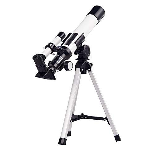 Teleskop Astronomie Profi, 68-fach Weitwinkel Spiegelteleskop mit Nachführung für Profis & Anfänger, mit HD-Fernglas, Mondfilter, Minimalismus, Weniger ist Mehr