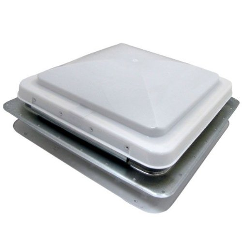 RV Motorhome Complete Universal Roof Vent Lid Replacement Trailer Vent Full Assembly