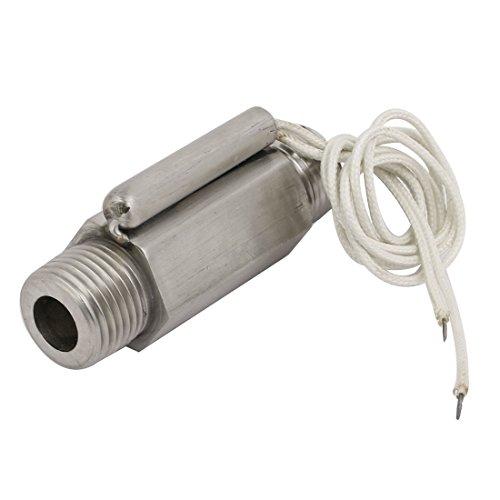 Aexit ZFS-04S 1 / 2BSP Interruptor del sensor de flujo de agua de la carcasa metálica con rosca macho (8bcb949b11aadd35ee262b3883c90c5a)