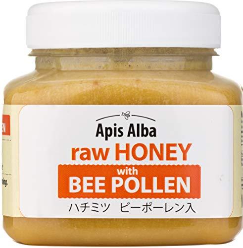 【Amazon.co.jp限定】 はちみつ 蜂蜜 ハチミツ 生 2個組 セット (ブルーベリーハニー200g、ビーポーレンハニー390g) Raw Honey Set Blueberry 200g & Bee Pollen raw honey 390g