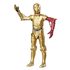 Classically-detailed 6-inch replica of C-3PO Multiple points of articulation Expand and enhance Star Wars collections Figure scale: 6 inches Includes figure