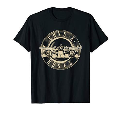 Guns N' Roses Official Reverse Logo T-Shirt T-Shirt