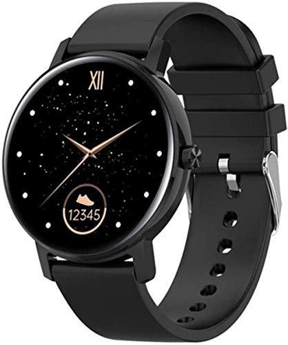 L01 Bluetooth Sports Call Smart Watch Hombres s Full Touch Monitor de ritmo cardíaco Multipe Sports 390 * 390 Smartwatch PK KW10 KW19 para Android IOS-G
