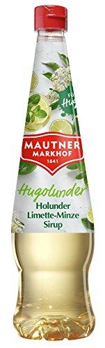 Mautner Markhof Holunder-Limette-Minze Sirup HUGOLUNDER