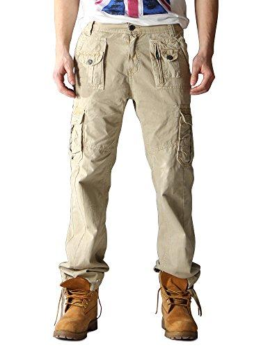Ochenta - Pantalones militares cargo...