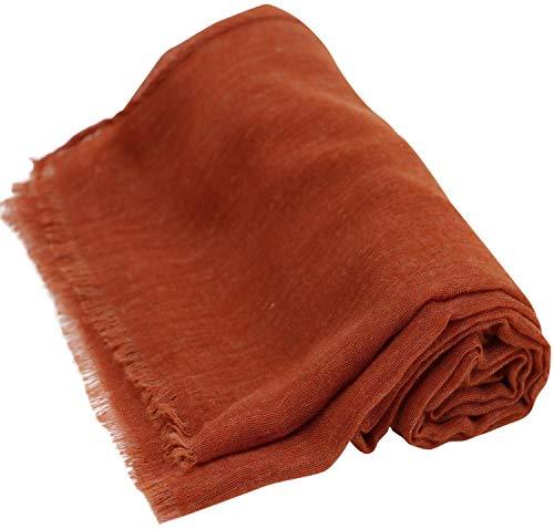 CJ Apparel sluier, voile sjaal, volledige kleur, sjaal, wrap, stola, Pashmina, nieuw