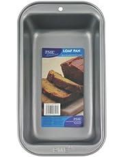 PME Bandeja de Pan de Acero al Carbono Antiadherente 5 x 2.7-Pulgadas de Profundidad