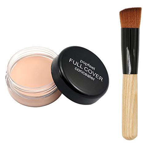 Posional Pinceaux de Maquillage Ensemble, 1PCS Set/Kit Sourcils Eyeliner Anticernes Premium Coloré Beauté Maquillage Brosse pour Fusion de Fond de Teint Concealer Yeux