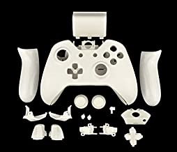 OSTENT Replacement Case Shell & Buttons Kit Compatible for Microsoft Xbox One - Color White