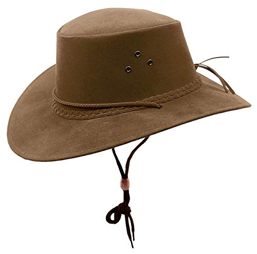 Kakadu Traders Australia - Chapeau Western - Homme - Marron - Small