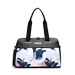Vooray Trainer Women's Gym Bag with Shoe Compartment and Wet-Gear Pocket
