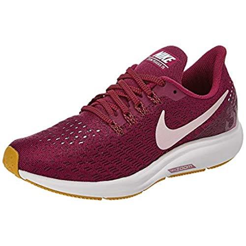 Nike Women's Air Zoom Pegasus 35 Running Shoes (True Berry Plum Chalk 607, Numeric_5)