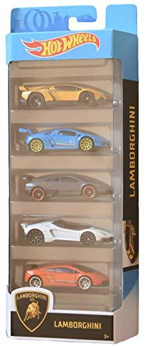 Mattel Hot Wheels Lamborghini 5 Pack