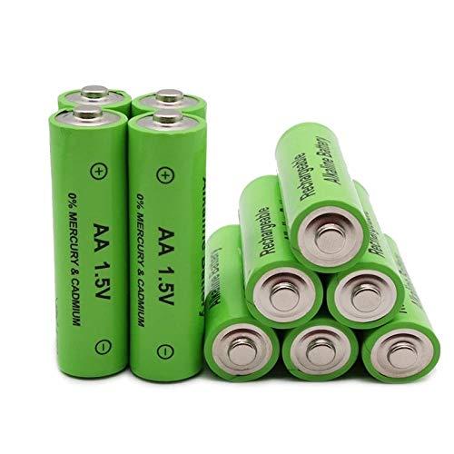 Pilas Recargables Batería 3800 1,5 V Batería Recargable de Calidad 3800 Mah 1,5 V Batería Recargable-4 Piezas para Linterna Radio