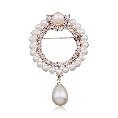 Brooches Femmes Strass Crystal Large Broche Broche Pin Cardigan Fixe Braces Robe Vêtements Pin Bijoux Accessoires Cadeaux